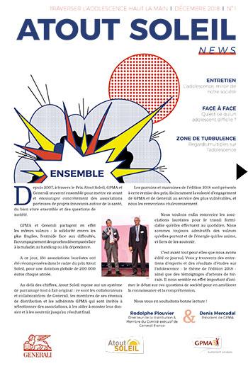 Atout Soleil news n°1